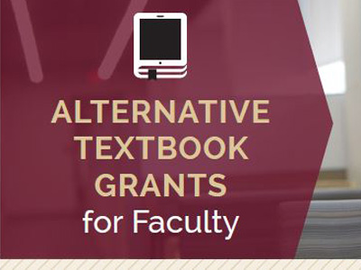 Alternative Textbook Grants for Faculty