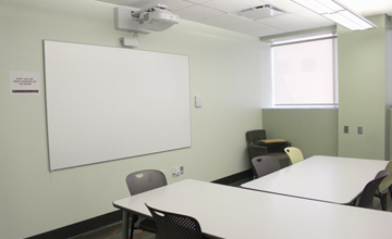 Group Study Rooms with Interactive Boards