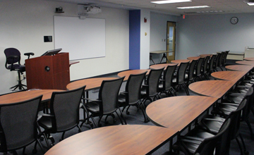 Instruction Classroom & Conference Room with Media Viewing