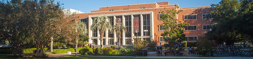 FSU Strozier Library front view