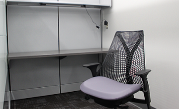 Graduate and Faculty Individual Study Rooms for Extended Time