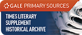 Logo and link to Times Literary Supplement Historical Archive (The)