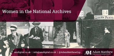 Logo and link to Women in The National Archives