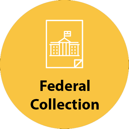 Federal collection icon
