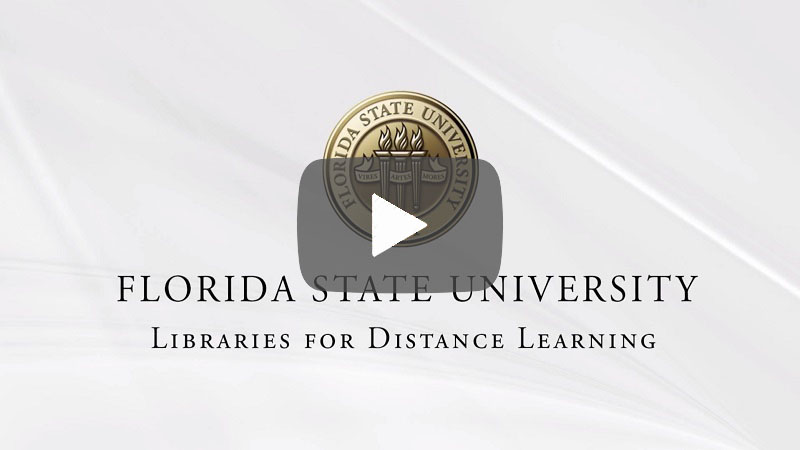 Research Guides Video Link