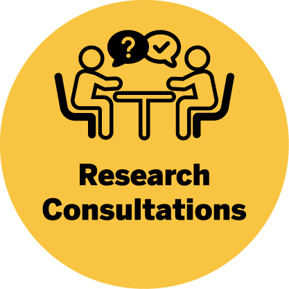 Research consultations icon