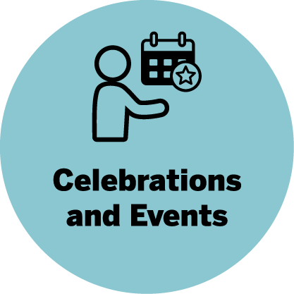 Celebrations and events icon