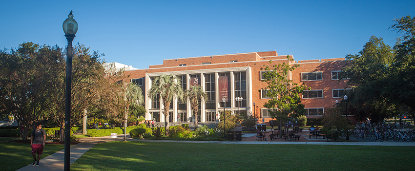 Exterior view of Strozier Library