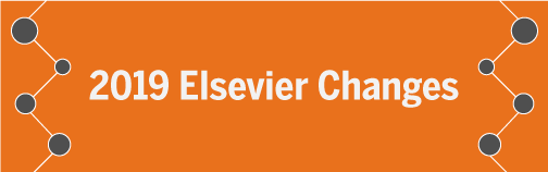 Elsevier Changes Banner